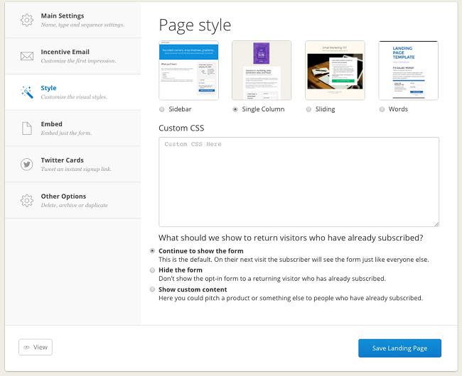 ConvertKit email autoresponder