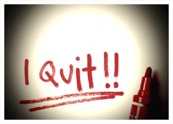 Do not quit blogging