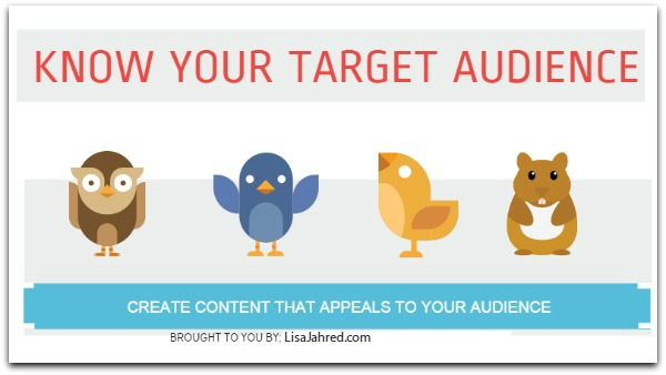 Define your ideal customer and audience