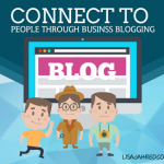 Business blogging connections