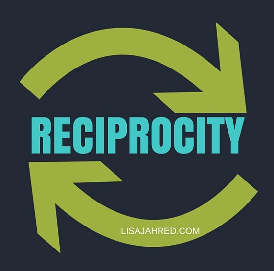 Law of Reciprocity FOR CUSTOMER RETENTION