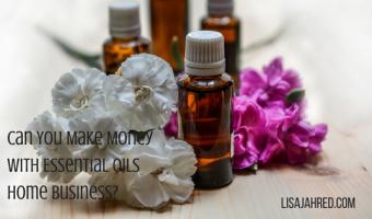 Make money with essential oils