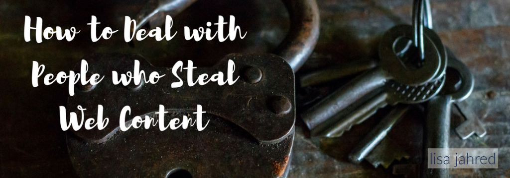 Stealing Web Content