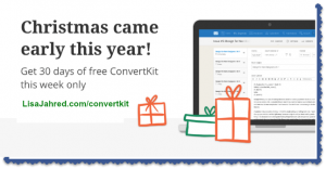 Get 30 Days free of ConvertKit