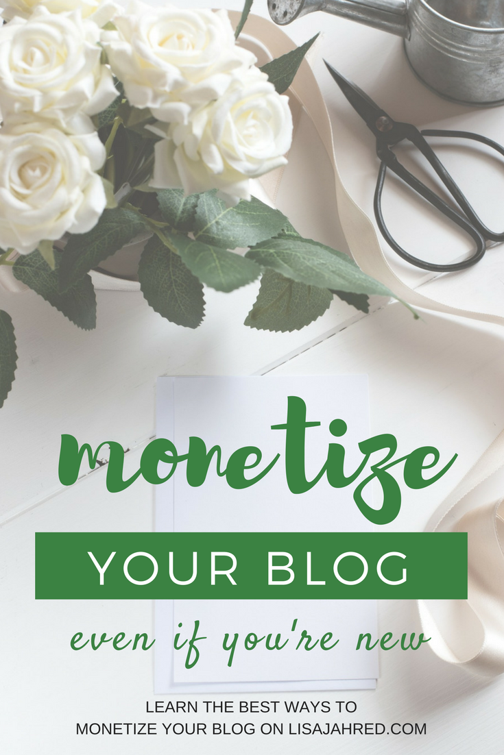 profit from blogging