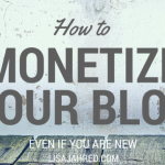 How to Monetize a Blog Even if you are New