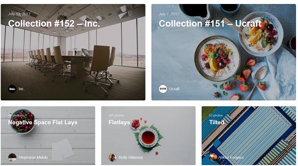 Find toyalty free images at Unsplash